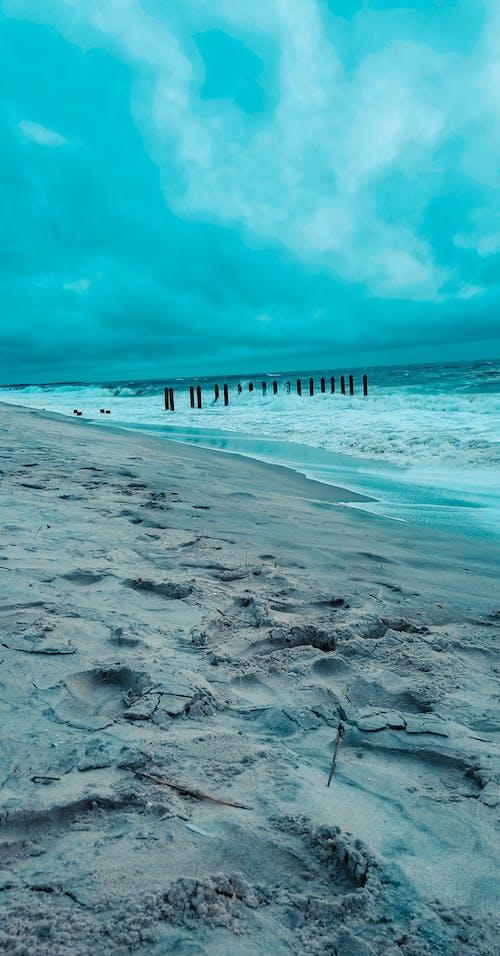 Gratis lagerfoto af orkan, storm, strand
