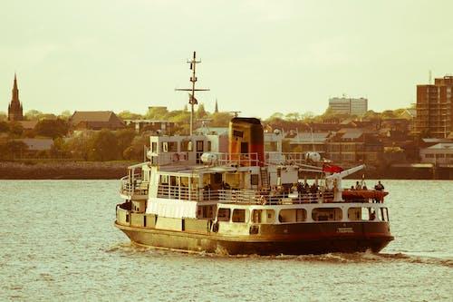 Immagine gratuita di barca, croce, famoso, liverpool