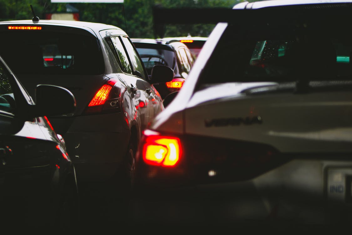 Selective Focus Photography of Cars