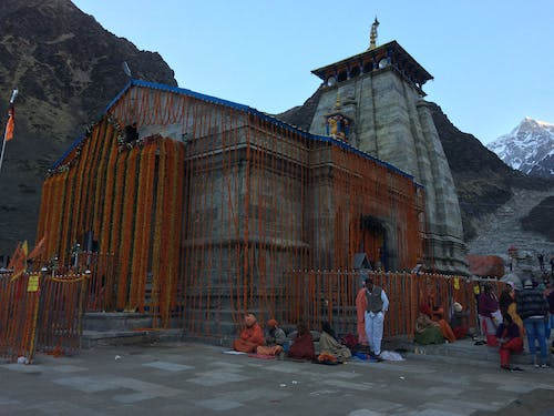Free stock photo of kedarnath temple, lord shiva
