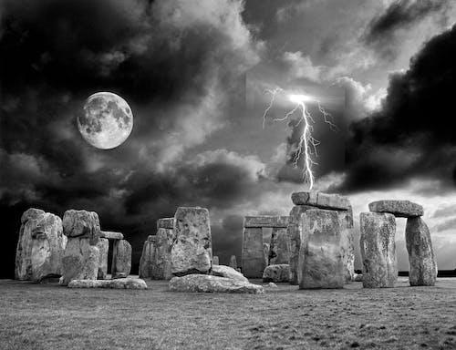 stonehenge içeren Ücretsiz stok fotoğraf
