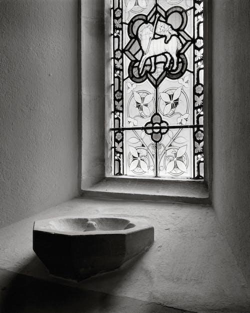 คลังภาพถ่ายฟรี ของ หน้าต่างโบสถ์