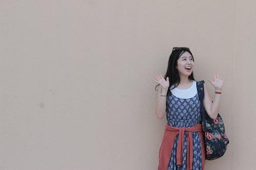 Ingyenes stockfotó arckifejezés, ázsiai nő, divat, divatos témában
