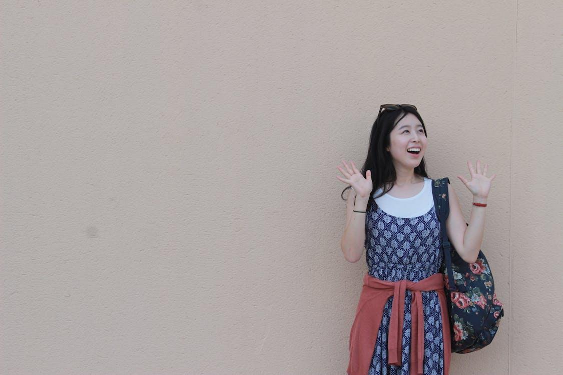 aantrekkelijk, aantrekkelijk mooi, Aziatische vrouw