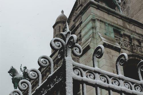 Kostenloses Stock Foto zu basilika des heiligen herzens von paris, paris