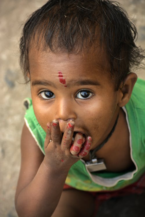 Free stock photo of asian child, baby, bangladesh, beautiful eyes