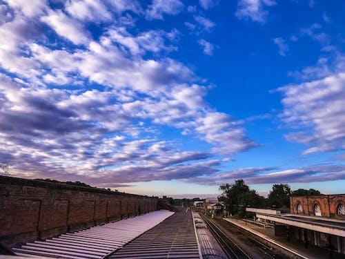 Ảnh lưu trữ miễn phí về bình Minh, ga xe lửa, màu xanh da trời, mẹ Thiên nhiên