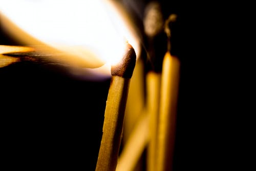Lighted Matchstick