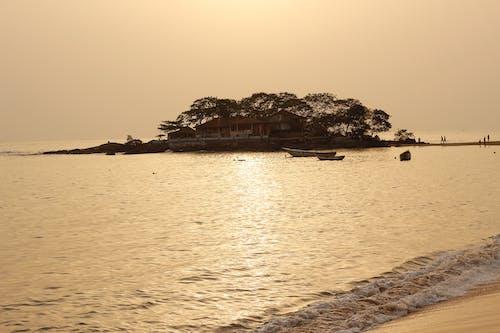 Δωρεάν στοκ φωτογραφιών με freetown, δύση του ηλίου, λάκκα, νερό