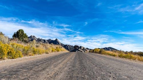 土, 夏天, 天空, 岩石 的 免费素材照片