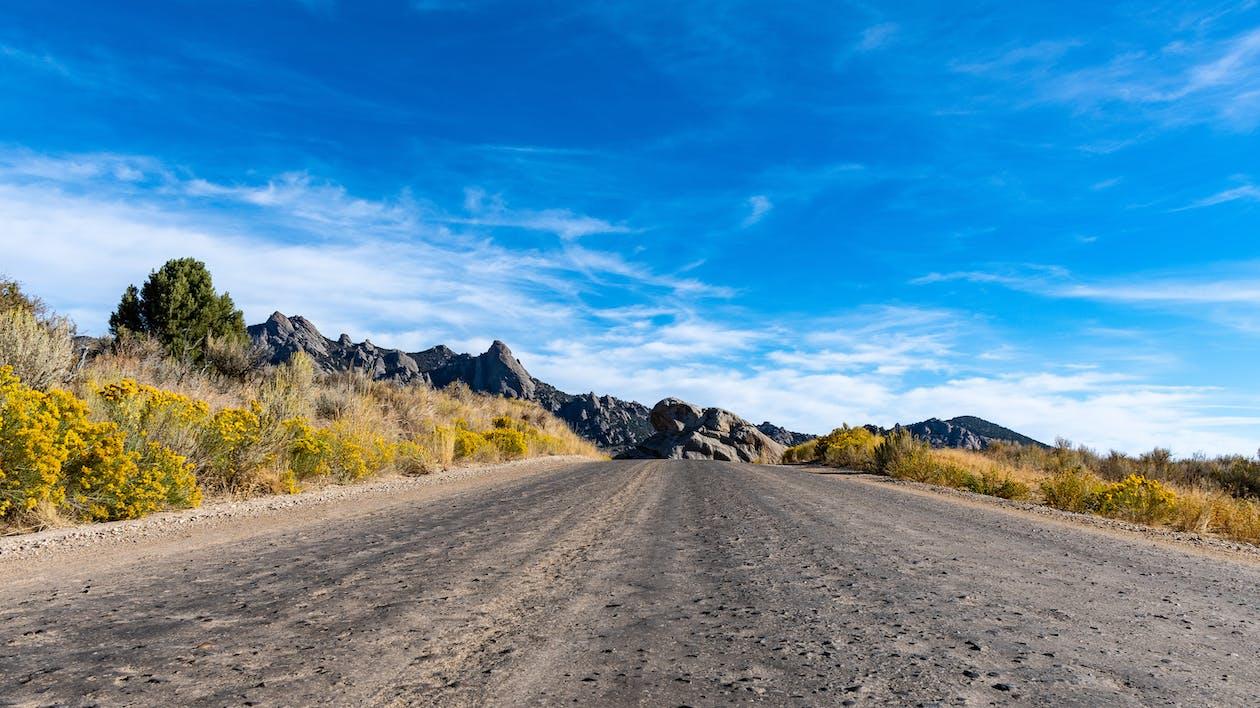 Photos gratuites de autoroute, cailloux, campagne