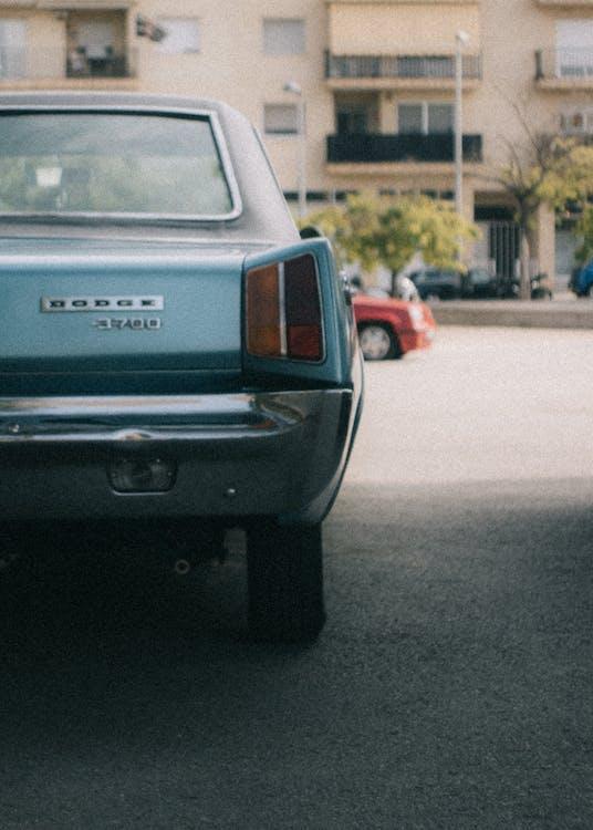 Blue Dodge 3700 Sedan