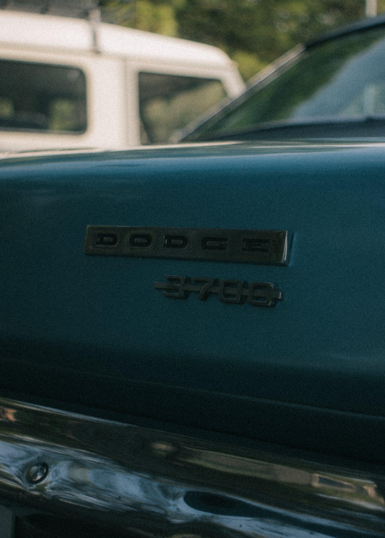 Blue Dodge 370d