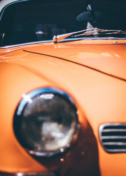 Бесплатное стоковое фото с Авто, автомобиль, Автомобильный, апельсин