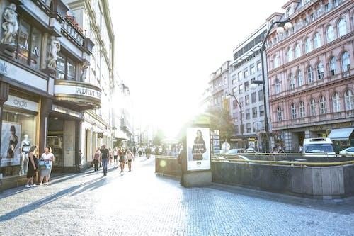 Immagine gratuita di architettura, centro città, città, cittadina