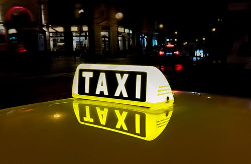 Lighted Taxi Signage