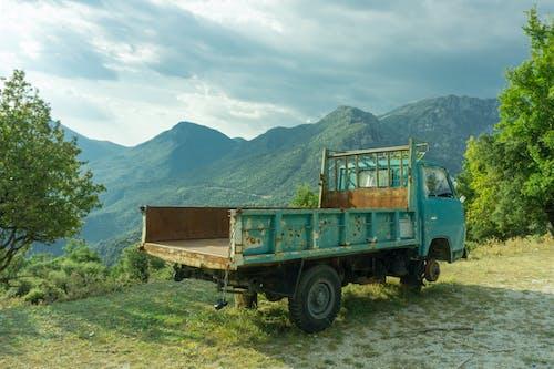 Imagine de stoc gratuită din abandonat, camion, cimitir de mașini, contrast