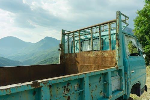 Imagine de stoc gratuită din abandonat, camion, camionetă, cimitir de mașini