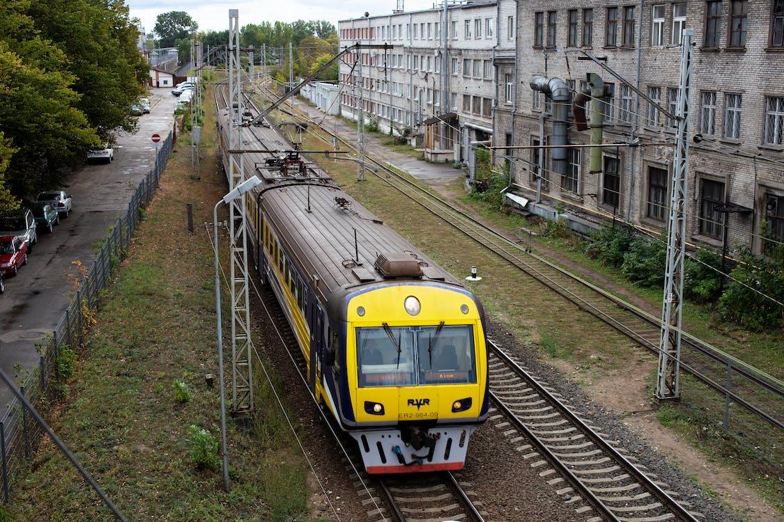 diesel train, electric train, railway