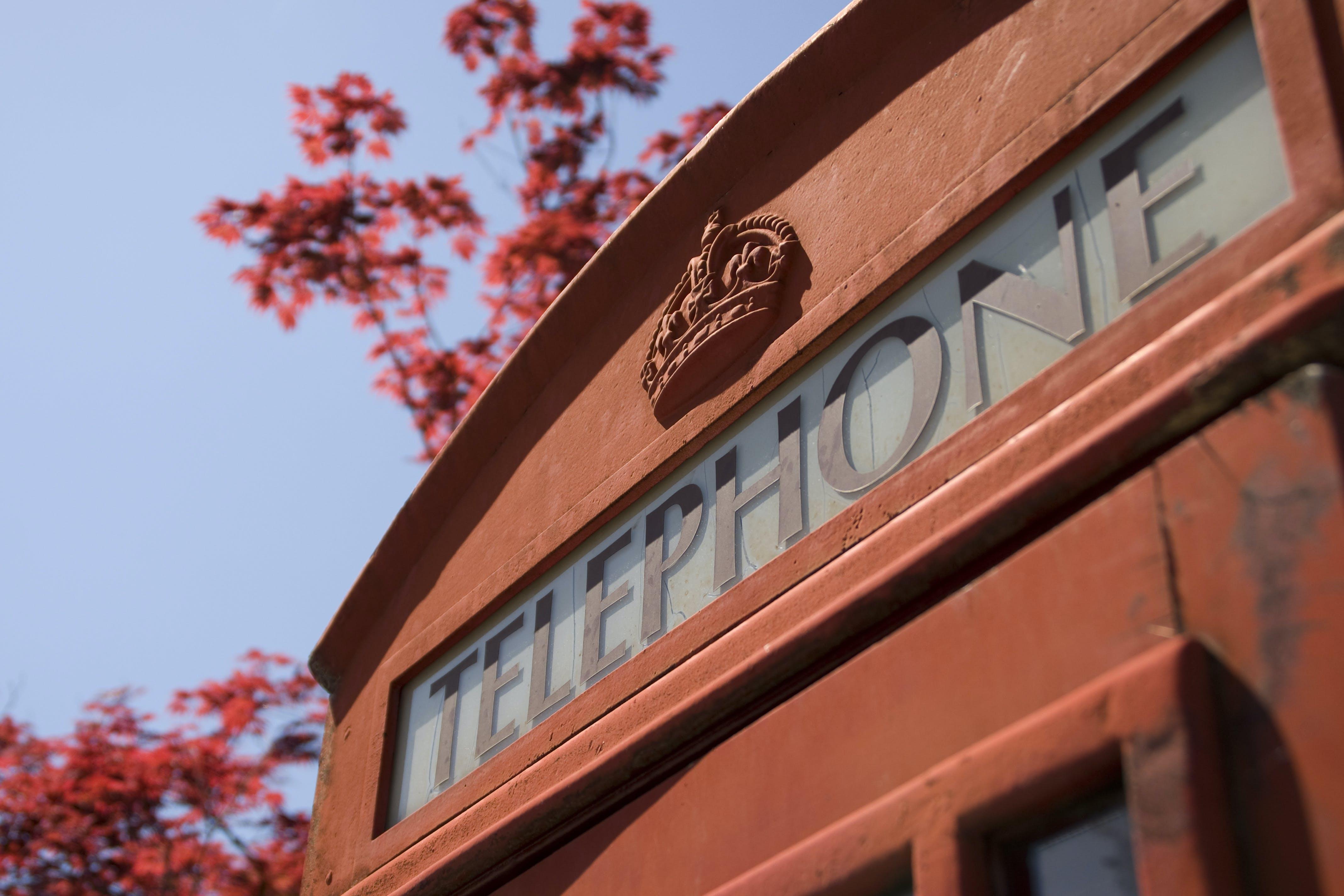 Kostnadsfri bild av anropslåda, england, london, röd