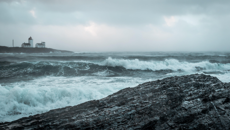 Δωρεάν στοκ φωτογραφιών με αφρός της θάλασσας, βράχια, γνέφω, γραφικός