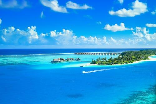 Бесплатное стоковое фото с берег, бухта, виллы, вода