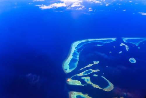 Aerial Photography of Islands
