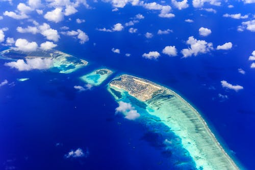 Δωρεάν στοκ φωτογραφιών με Ακρωτήρι, ακτή, αρχιπέλαγος, γαλάζια λίμνη