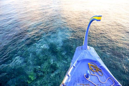 Kostenloses Stock Foto zu azurblau, boot, bucht, entspannung