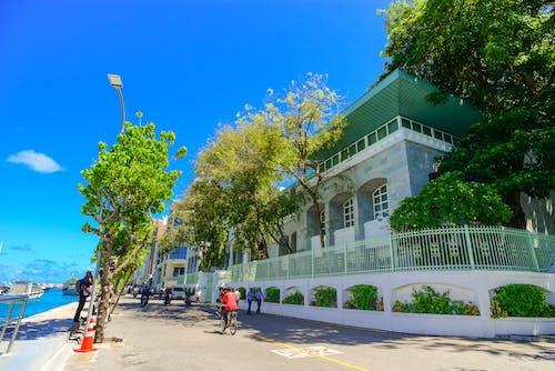 Gratis lagerfoto af arkitektur, blå himmel, bugt, by