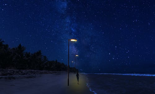 Foto d'estoc gratuïta de cel, cel nocturn, constel·lacions, fons de pantalla