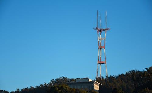 Darmowe zdjęcie z galerii z dane, maszt, niebieski, niebo