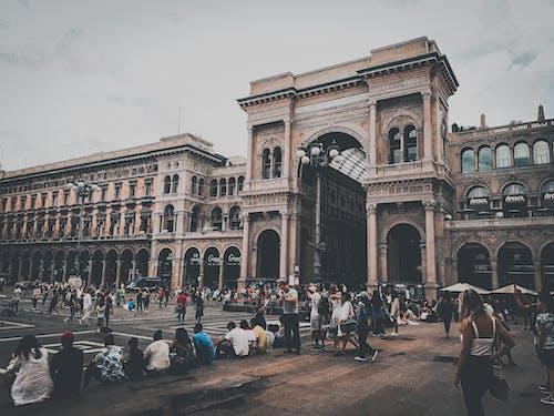 Free stock photo of city, duomo, emtional