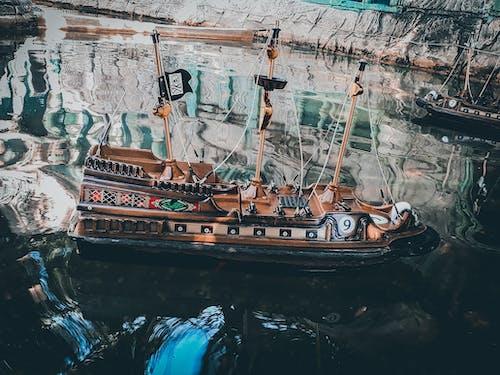 Photos gratuites de colortones, emtionallook, miniboat, pirate