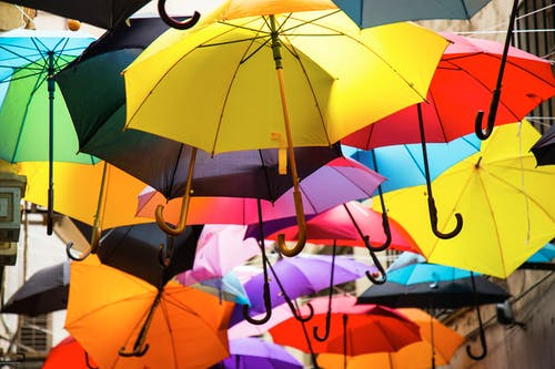Assorted-colors Umbrella