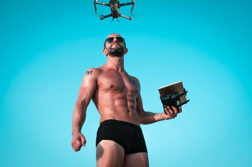 abs, açık hava, adam, aygıt içeren Ücretsiz stok fotoğraf