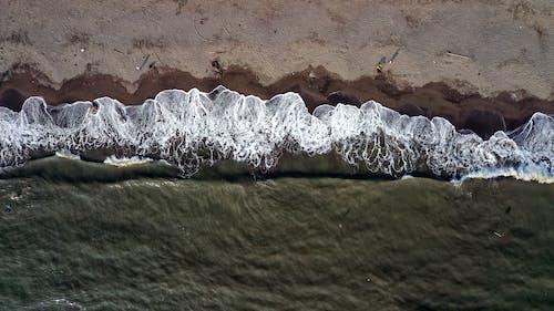 Foto stok gratis air, alam, fotografi drone, garis pantai
