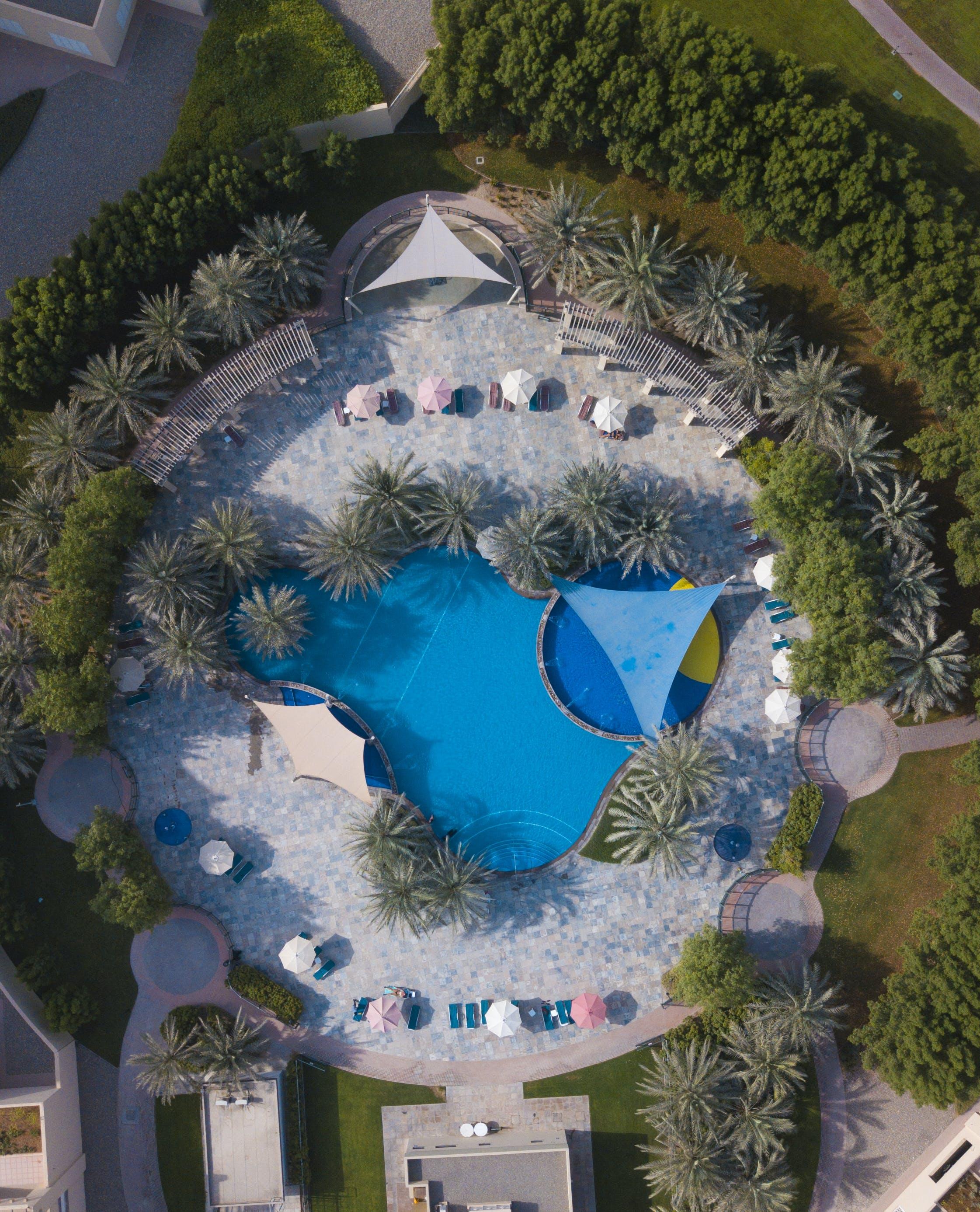 Bird's Eye View Photo of Pool