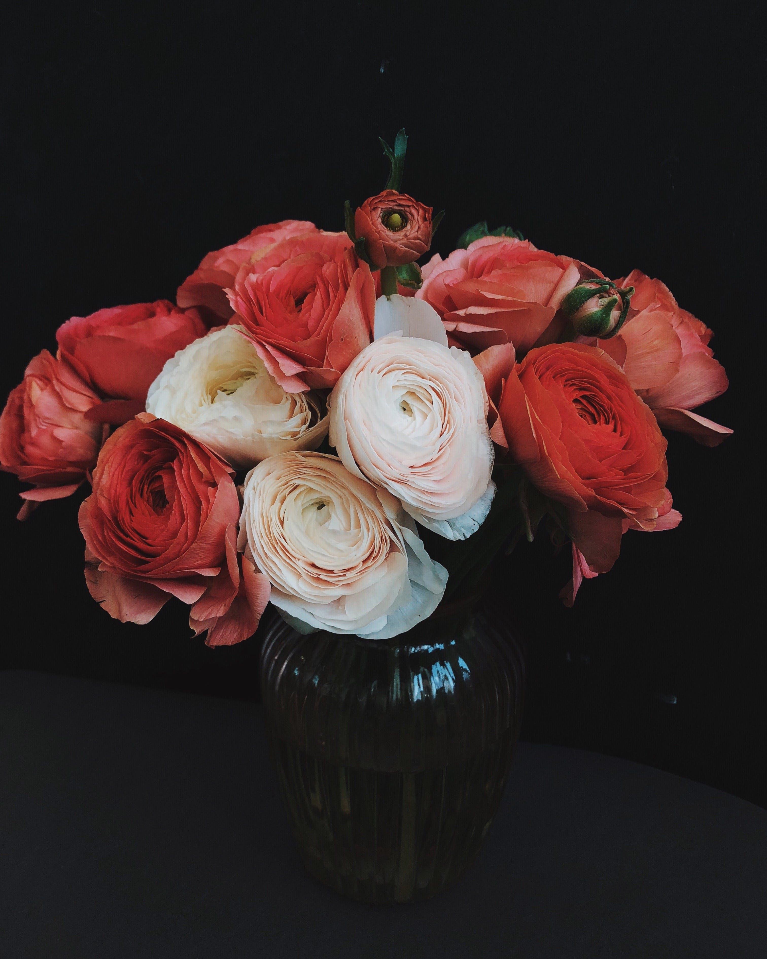 Photo of Flowers In Flowers Vase