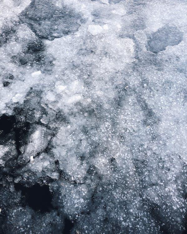 ขรุขระ, น้ำค้างแข็ง, น้ำแข็ง