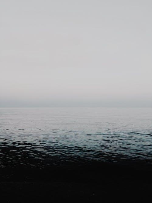 Fotobanka sbezplatnými fotkami na tému hmla, horizont, krajina pri mori, malebný