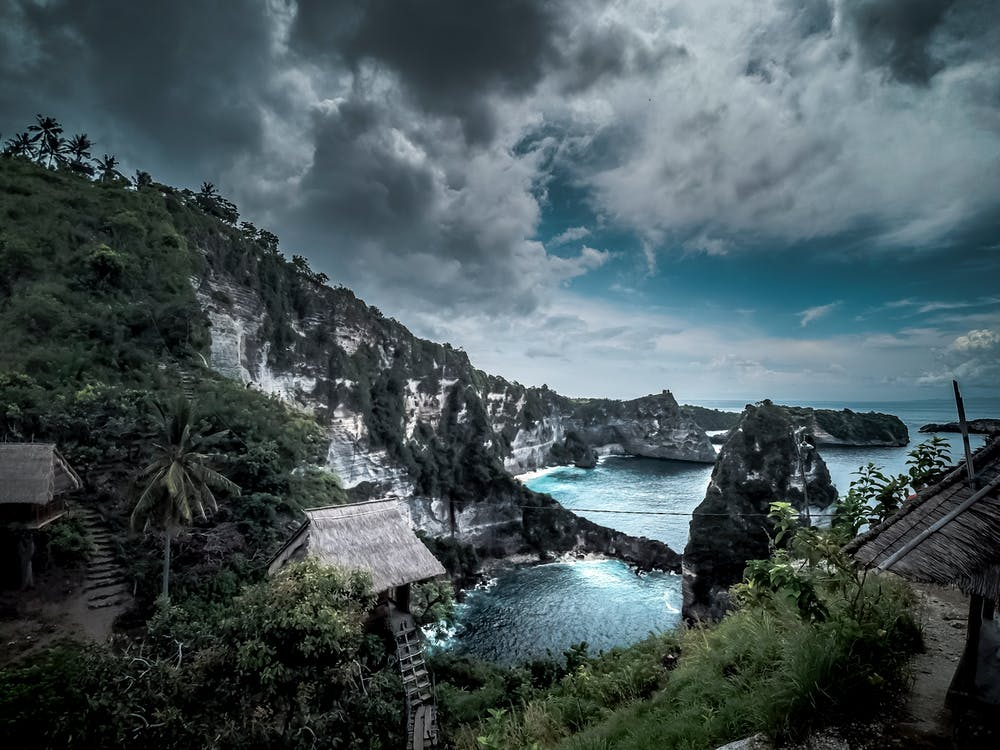 alba, Bali, blau