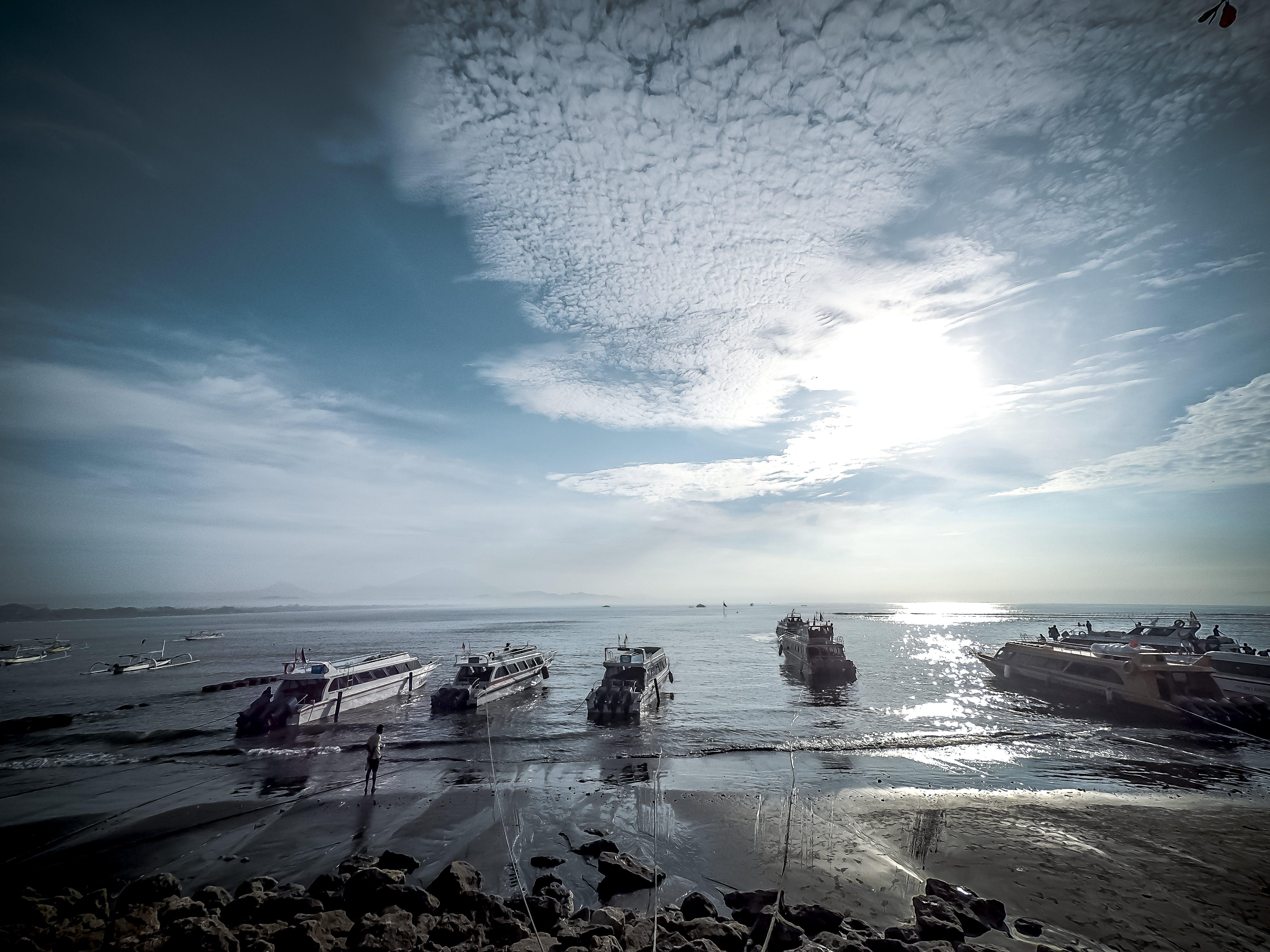 Free stock photo of sky, beach, blue, ocean