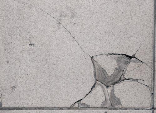 Free stock photo of broken, crack, floor, tile