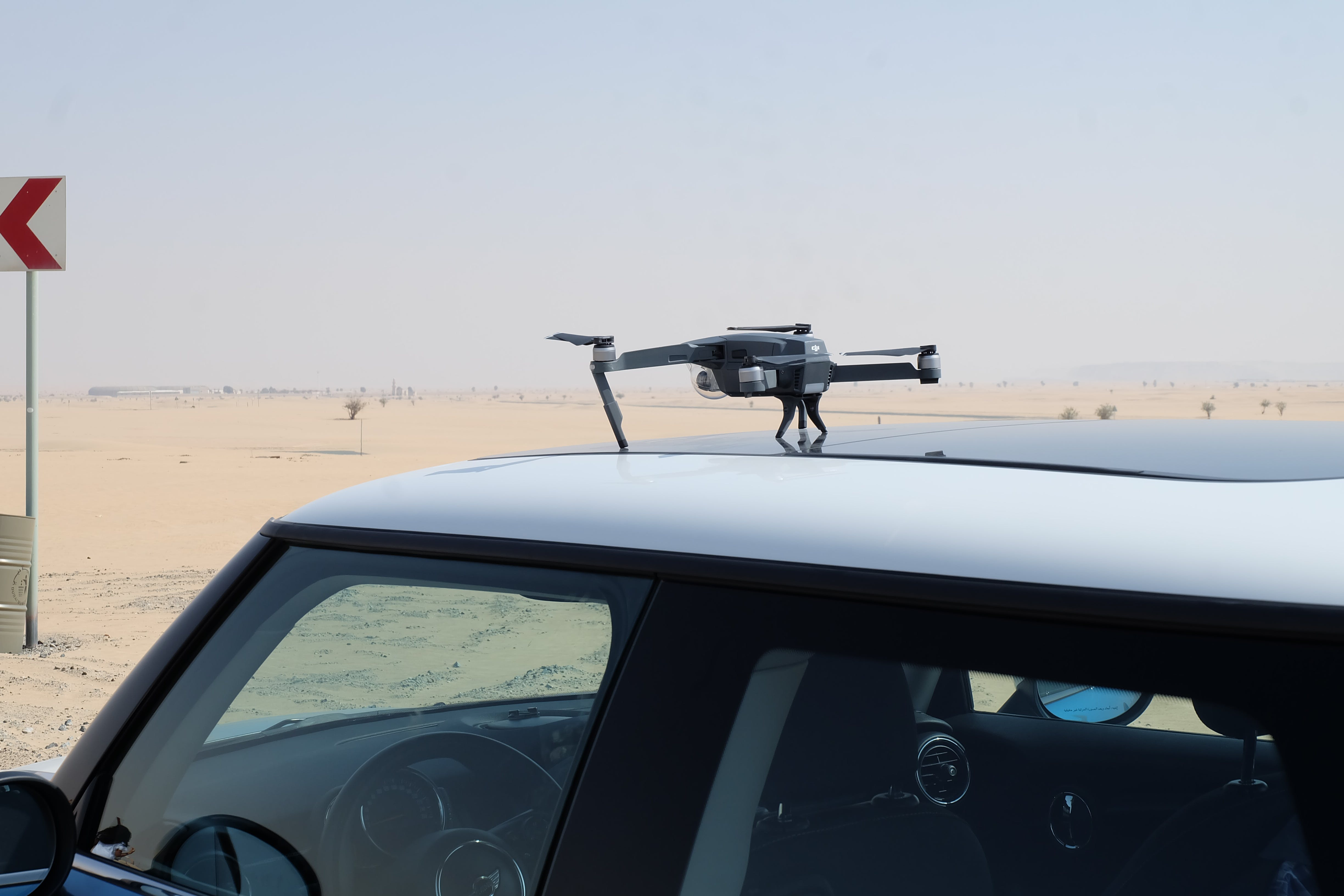 Photo of Drone On Top Of Car
