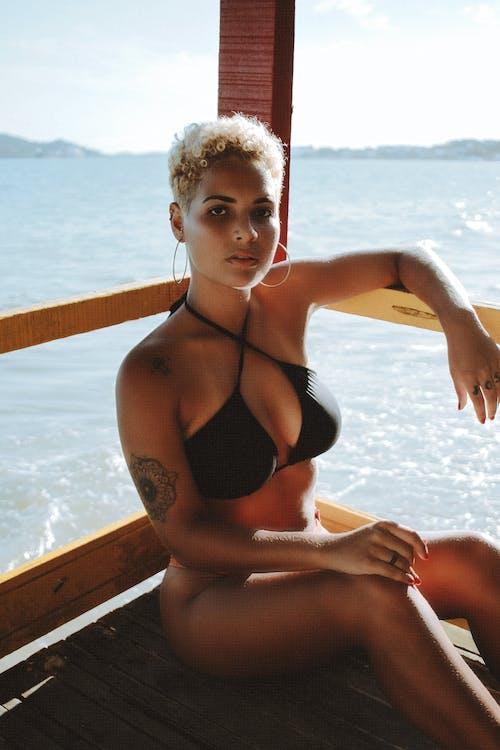 Imagine de stoc gratuită din agrement, atrăgător, bikini