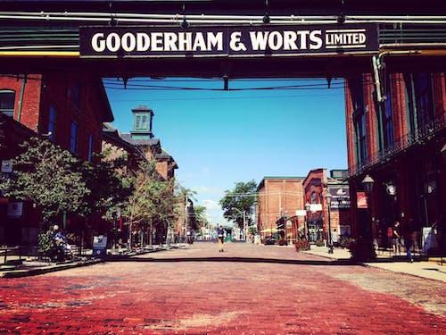 damıtım evi, fabrika, gooderham & worts, sokak içeren Ücretsiz stok fotoğraf