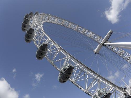 Kostnadsfri bild av London Eye, molnig himmel, pariserhjul, symbol