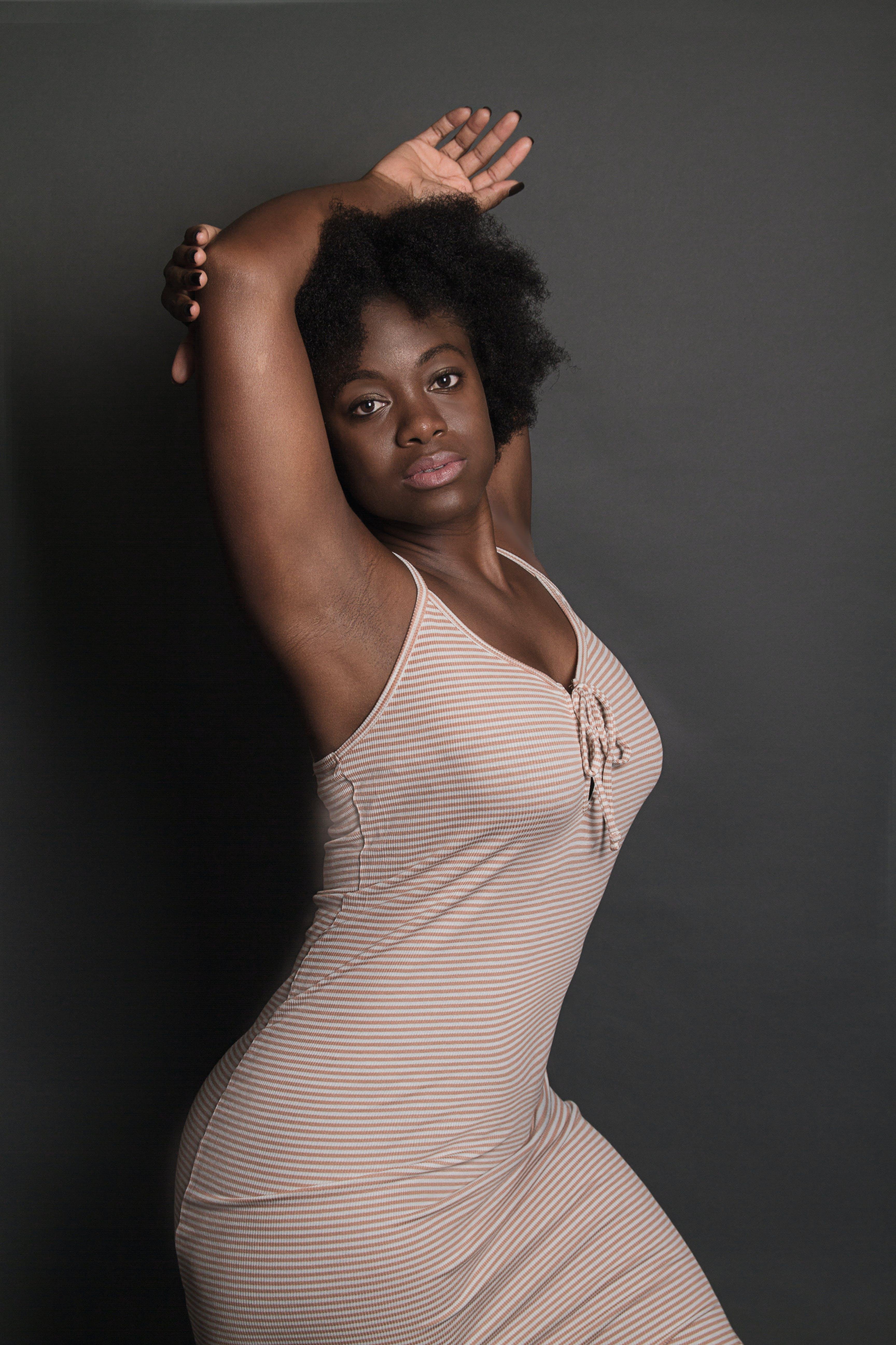 Woman Wearing Dress