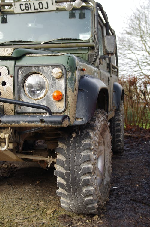 Free stock photo of car, explorer, land rover, mud